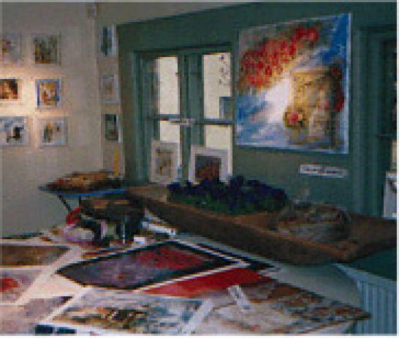 Utställning i ateljén